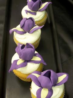 Iris Cupcakes