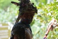 A fierce Mayan warrior god!