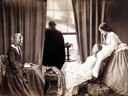 Fading Away, 1858.