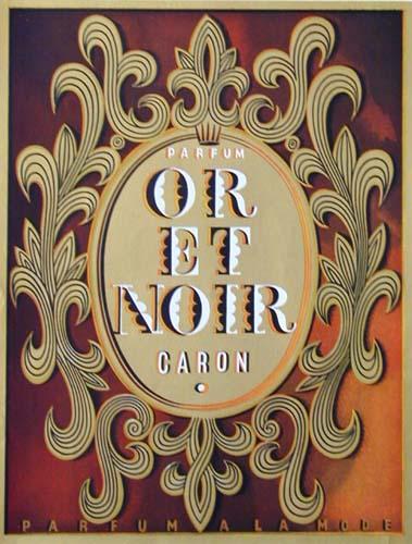 Caron Or Et Noir Ad