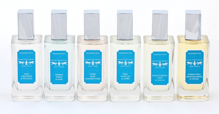 Dame Perfumery Collection of 6 Eau de Toilette Fragrances