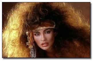 A big hair warrior princess