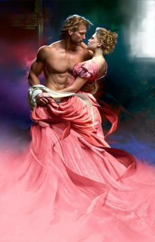 Passion via romance novel art!