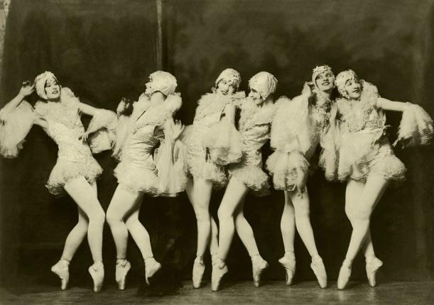 Ziegfeld Model - Non-Risque - Dancers by Alfred Cheney Johnston