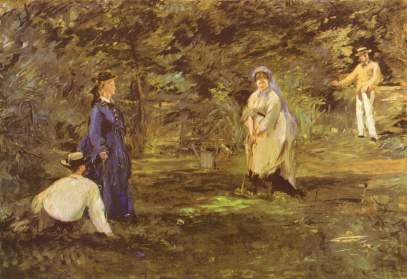 The Croquet Game, Edouard Manet - 1873