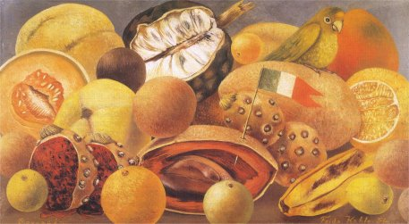 still-life-with-parrot-and-fruit-1951