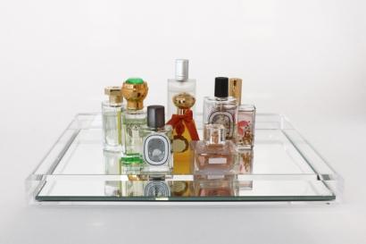 AVF Vanity Tray Clear Front Pefume